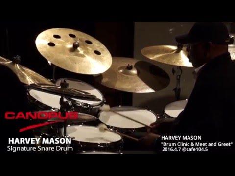 HARVEY MASON Drum Clinic & Meet and Greet (Tokyo 2016)