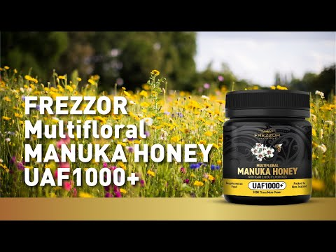 FREZZOR MULTIFLORAL MANUKA HONEY UAF1000+ - Manuka Honey New Zealand | Health Benefits & uses