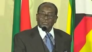 Mugabe pulls no punches on Rhodes, Zuma and economy