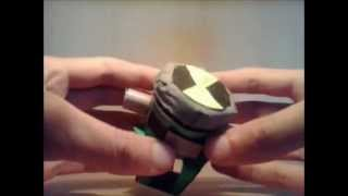 ben 10 alien force paper omnitrix version 2 by liribinus