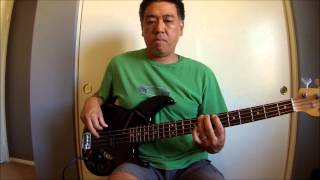 """I Love You Always And Forever"" (Donna Lewis) Bass Cover"