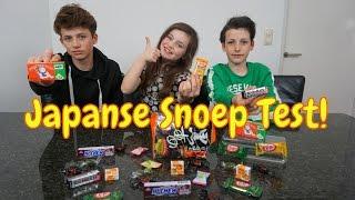 JAPANS SNOEP UITPROBEREN MET MIJN 2 BROERS! - Super Gekke Snoepjes!! - Bibi (Nederlands)
