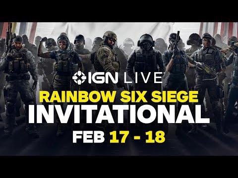 Rainbow Six Siege Invitational 2018 Grand Finals (Feb  18)
