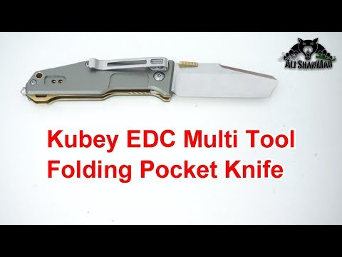 Kubey Multi Tool Folding Knife for Outdoor Survival Sports