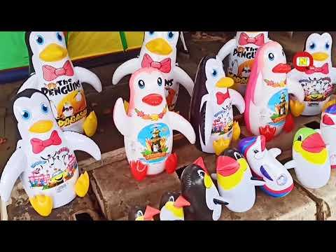 🦄 Balon Karakter Pinguin 😂 Balo Goyang Tik Tok ❤ Balon Lucu