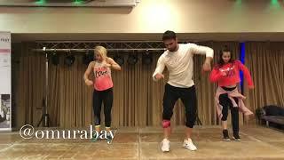 Leslie Grace, Noriel - Duro y Suave / New zumba fitness choreo / By OMUR ABAY/2018 /istanbul /Turkey