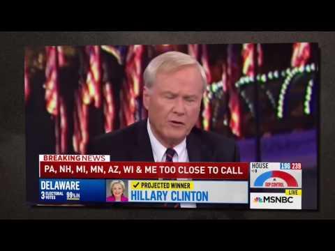 Chris Matthews destroys Rachel Maddow on Hillary Clinton