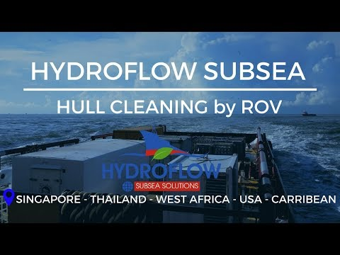 Hull cleaning ROV