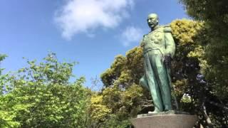 東郷平八郎銅像 鹿児島県 多賀山公園 Togo, in the Russo-Japanese War,...