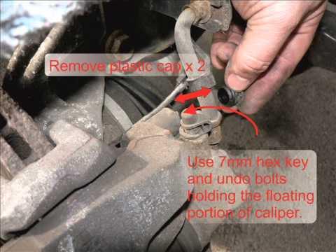 Vectra C Front Brake Pad Change