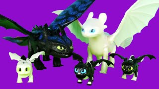 Сім'я Беззубика і Денний Фурії   Як приручити дракона 3 Іграшки