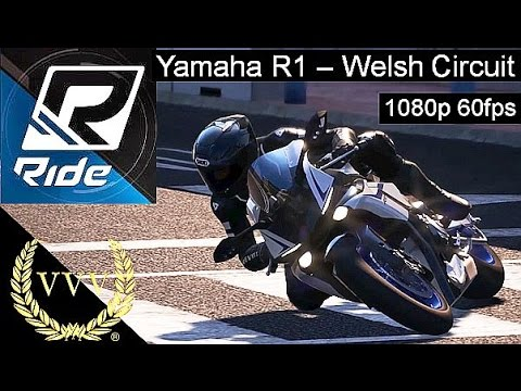 Ride - Yamaha R1 -Welsh Circuit - 60fps Multi-cam PC Version
