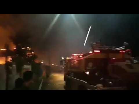 Detik detik kebakaran di km 3 balikpapan