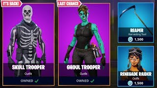 THE SKULL TROOPER OFFICIAL RETURN DATE! - Fortnite Battle Royale Skull Trooper Skin in Season 6