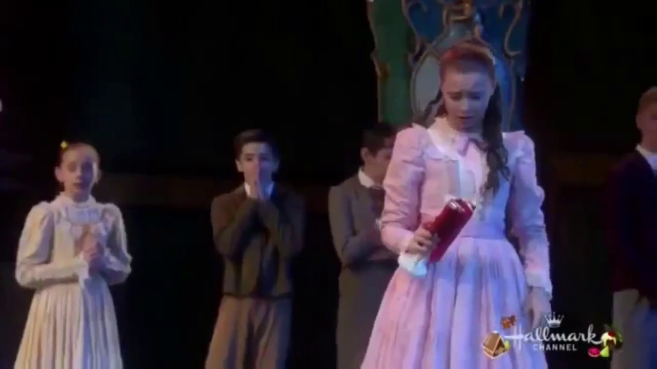 Sophia Lucia Dancing A Nutcracker Christmas - YouTube