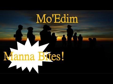 Manna Bites! ~  Mo'edim