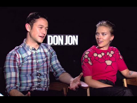 Joseph Gordon-Levitt & Scarlett Johansson Interview - Don Jon (JoBlo.com)
