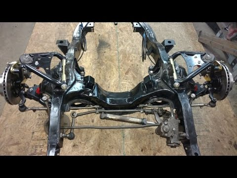 CPP front disk brake conversion on the 1964 Impala SS and rear shock tower cross member update
