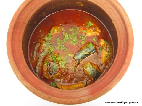 Vanjaram Meen Kulambu In Manpaanai | Coconut Milk Seer Fish Curry