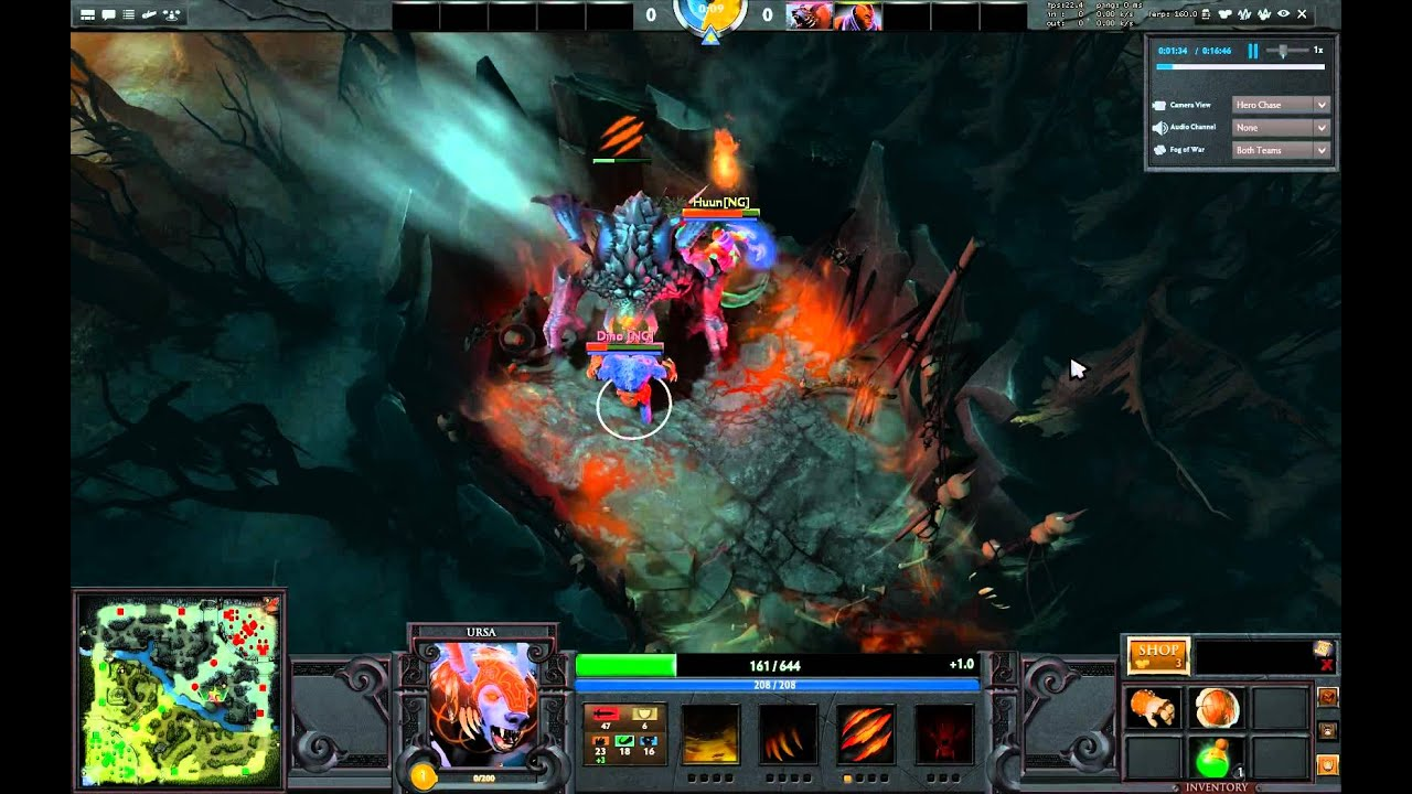 dota 2 roshan level 1 with ursa anti mage or any melee youtube