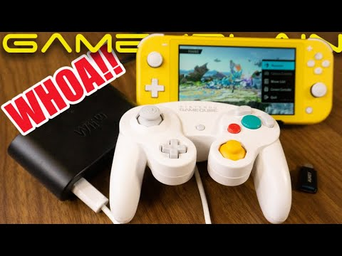 WHOA! GameCube Adapter Works on Nintendo Switch Lite! - We Show it Off!