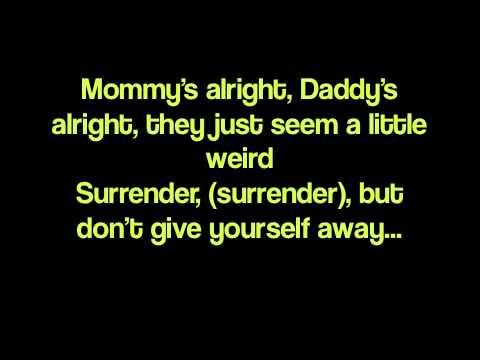 Cheap Trick - surrender (LYRICS)