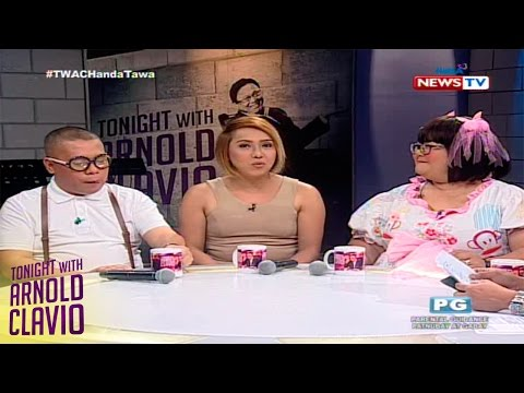 Tonight with Arnold Clavio: Paano nakilala sina Donita Nose, Boobsie at Atak?