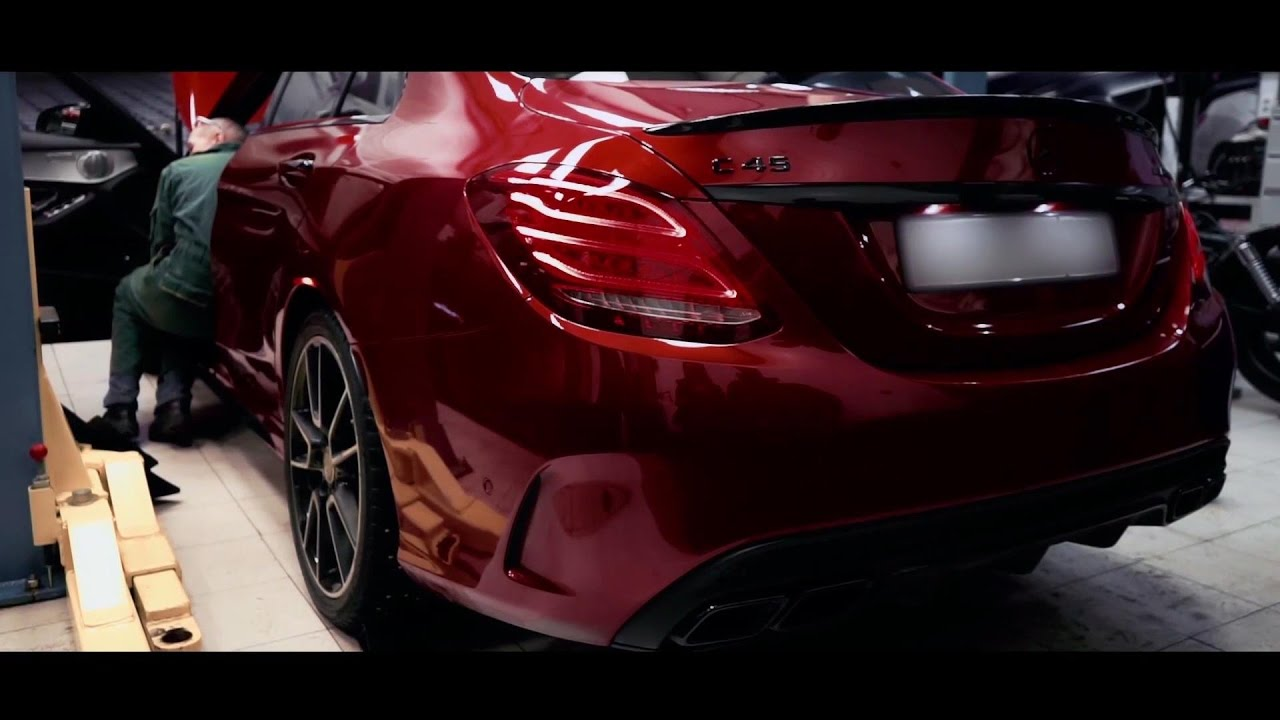 Mercedes C450 C43 AMG Armytrix Axe-Back Valvetronic Exhaust by VC TUNING in  Russia