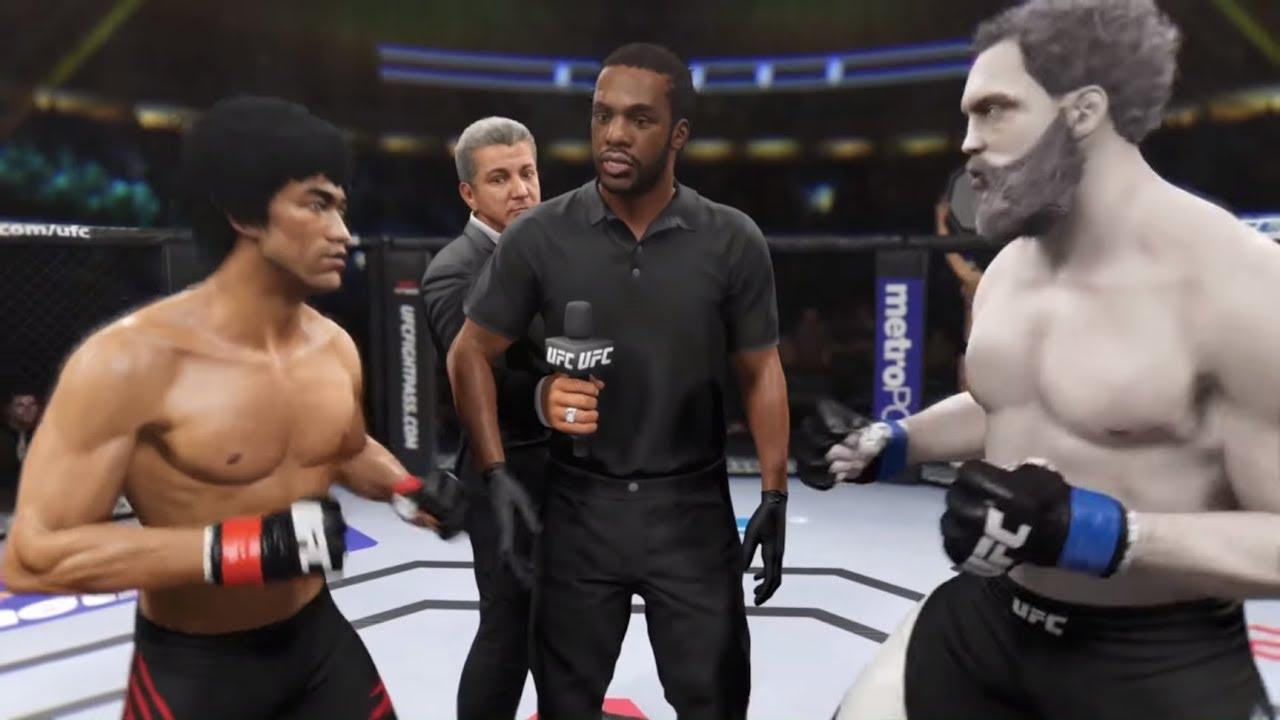 Bruce Lee vs. Hercules (EA Sports UFC 2) - CPU vs. CPU