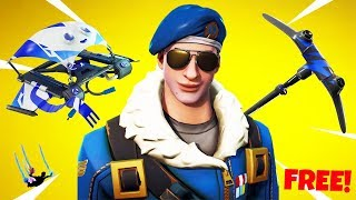 "How to Get a FREE ""TRIPLE ITEM PACK"" Fortnite (Glider/Pickaxe/Trails) Chaos"