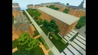 Northwestern University in Minecraft (North Campus)