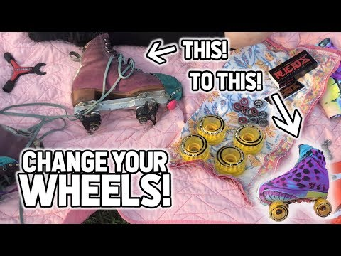 HOW TO CHANGE YOUR WHEELS! | Planet Roller Skate