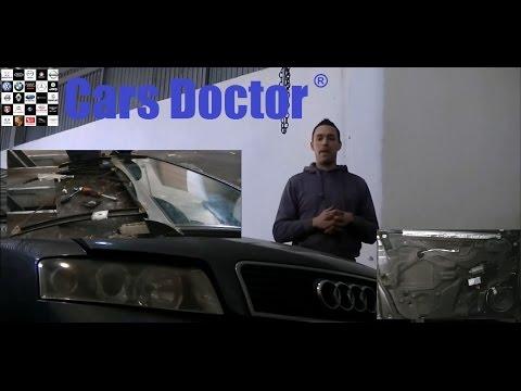 VideoTutorial HD | Sustitucion de elevalunas delantero izq Audi A4