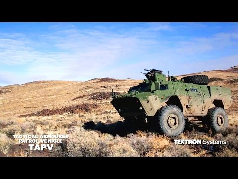 Textron Systems - Tactical Armoured Patrol Vehicle [720p]