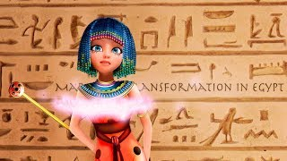 Miraculous Speededit | Mari transformation  in Egypt [ Fan made]
