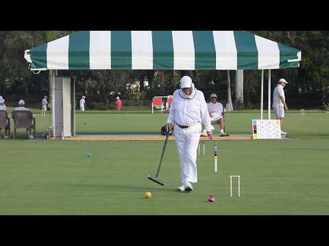 Croquet:US Rules-2017 Seniors/Masters:Jackie Jones v Dick Sullivan