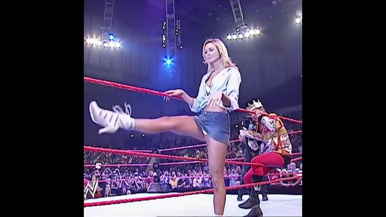 Stacy Keibler's All Time Hottest Entrance