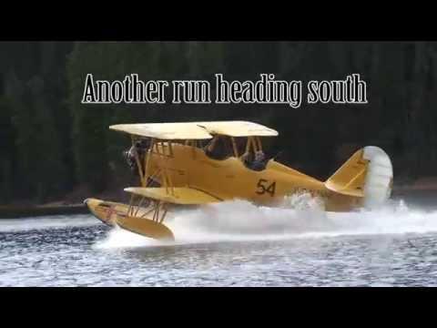Navy N3N Biplane back in the air in Canada