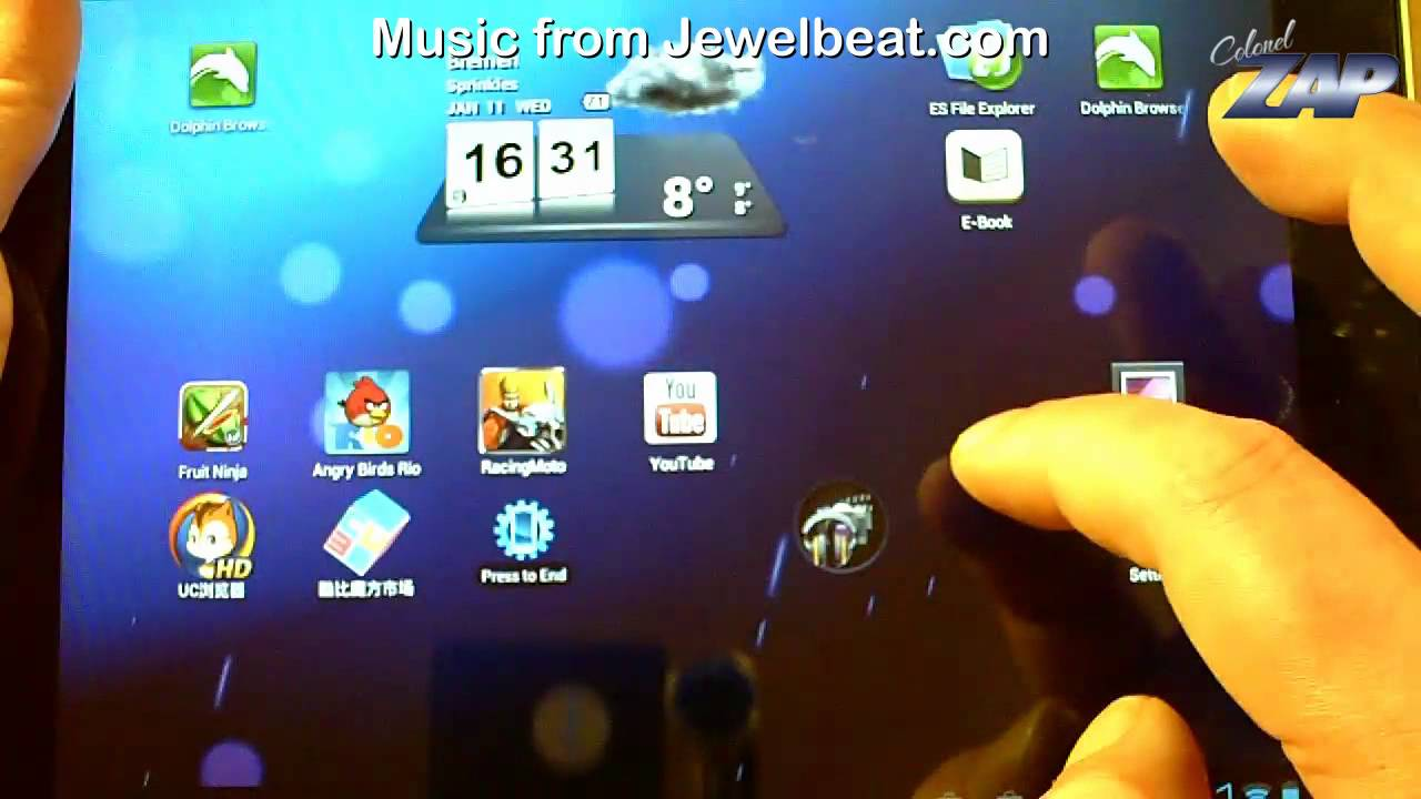 Cube U9GT2 Official Android 4 0 1 ICS V1 05 Firmware Review - Rockchip  RK2918 IPS ColonelZap