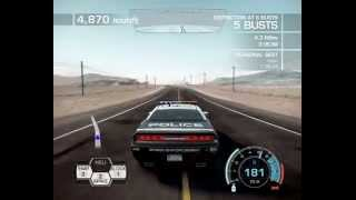 Need For Speed Hot Pursuit - Dodge Challenger SRT8 Police Chase Gameplay [HD]