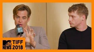 Chris Pine & Billy Howle on 'Outlaw King' & Full Frontal Scene Explained | TIFF 2018 | MTV News