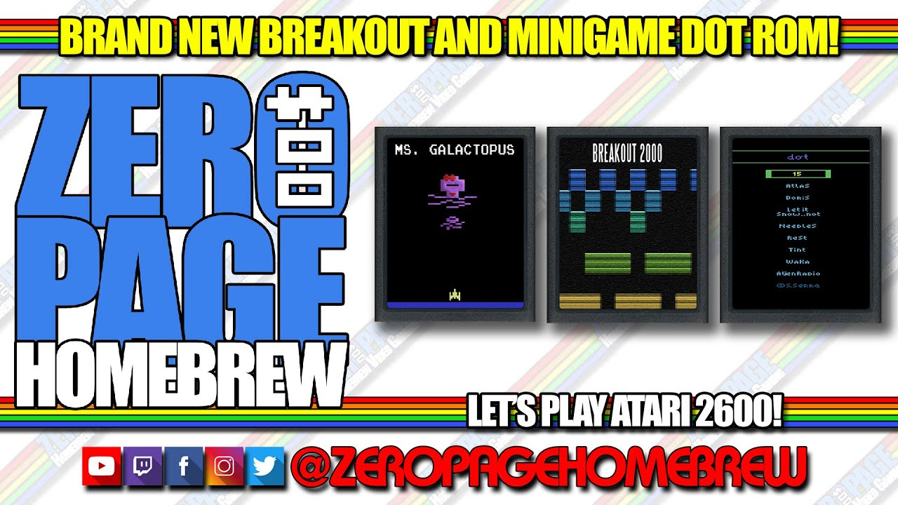 BREAKOUT 2000 for the Atari 2600 - Homebrew Discussion