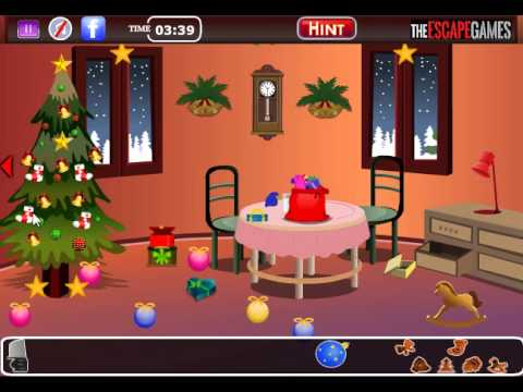 Christmas dream house escape walkthrough youtube for Minimalistic house escape 5 walkthrough