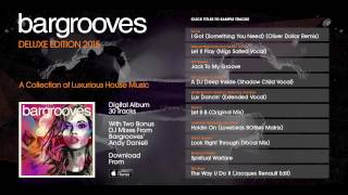 Bargrooves Deluxe Edition 2015 - Album Sampler