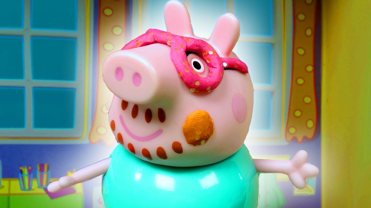 Peppa Pig Official Channel | Make Masks with Peppa Pig - Peppa's Craft Class