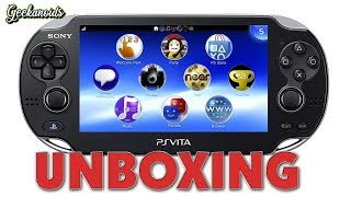 Sony PS Vita 3G + WiFi UK Unboxing & First Look