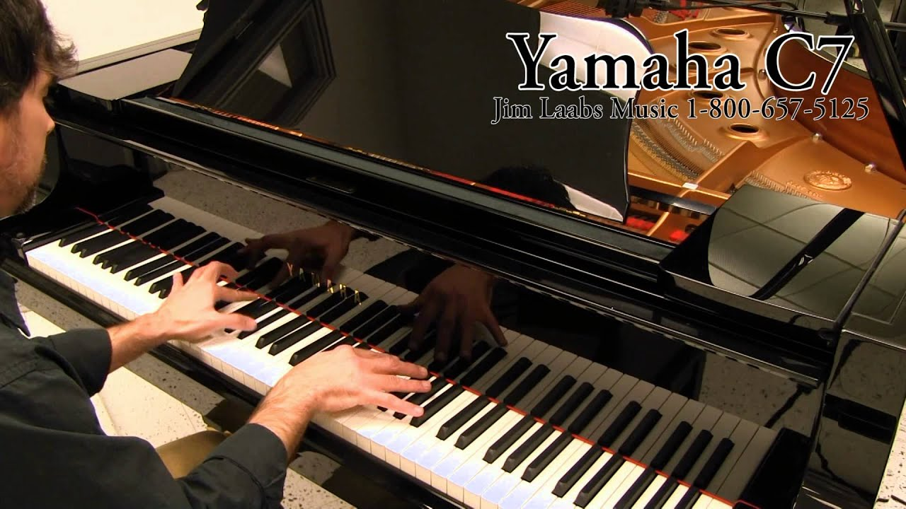 yamaha c7 grand piano video demo youtube. Black Bedroom Furniture Sets. Home Design Ideas