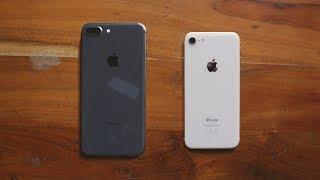 Распаковка iPhone 8 и 8 Plus