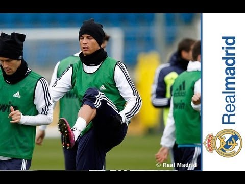 First training session ahead of La Liga match against Valencia