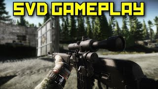 New Update - SVD Gameplay - Escape From Tarkov